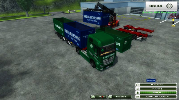 Container Pack v 2.01 (MoreRealistic)