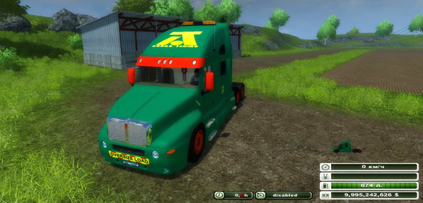 Kenworth KT 2000 Aguas Tenias Edition v 3.0