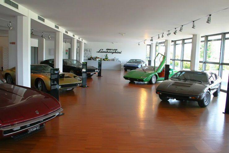 Muzeum Lamborghini 6
