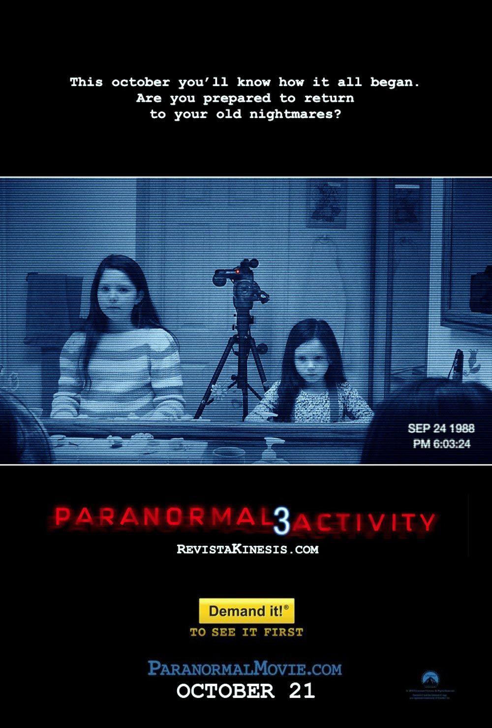Paranormal Activity 3 Türkçe Dublaj indir   2011