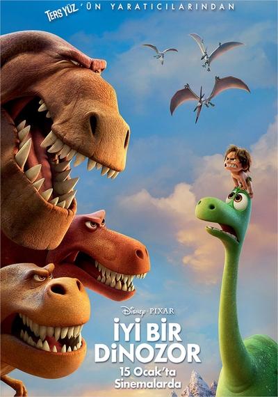 İyi Bir Dinozor – The Good Dinosaur 2015 ( HDRip XviD ) Türkçe Altyazı, BluRay Dual Türkçe Dublaj Film indir, Film-Rip.Com Film indir