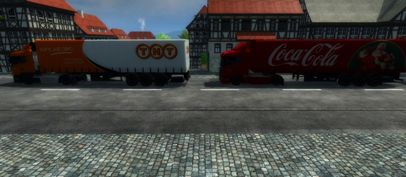 Scania Traffic pack v 1.0