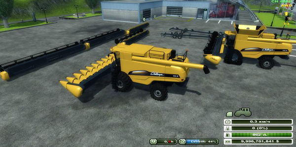 CAT Challenger 680 B Pack v 1.3 fixed (MoreRealistic)