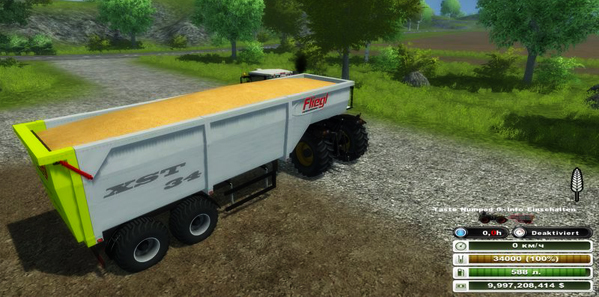 Fliegl semitrailer v 3.0 (MoreRealistic)