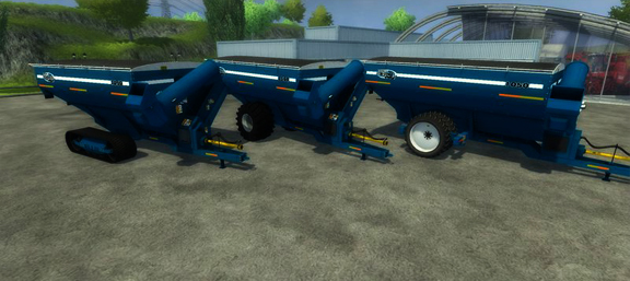 Kinze 1050 Grain Cart v 1.0 (MoreRealistic)
