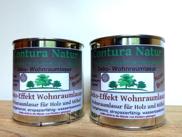 Holz & Möbel Wohnraumlasur Holzlasur Möbellasur Effekt Lasur Eiche ...