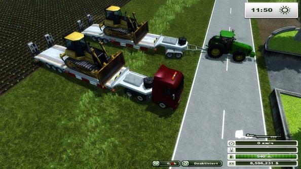 Tongya Vehicle Transporter Trailer v 1.0 (MoreRealistic)