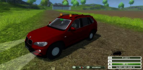 BMW X5 agricultural v 1.0