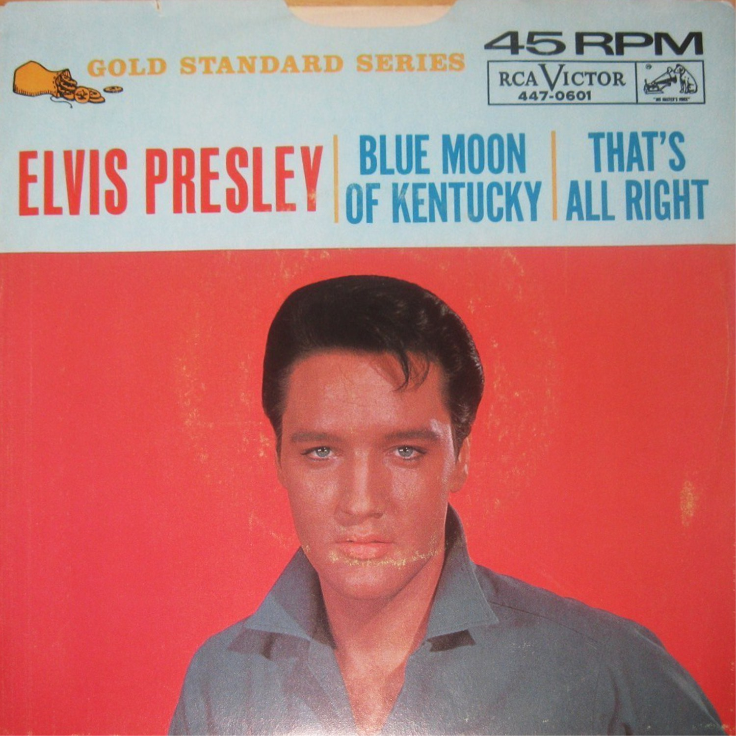 That's All Right / Blue Moon Of Kentucky 447-0601a3pkxh