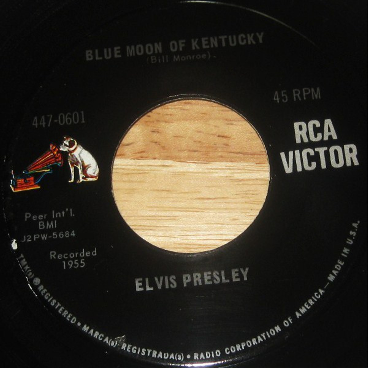 That's All Right / Blue Moon Of Kentucky 447-0601d08j32