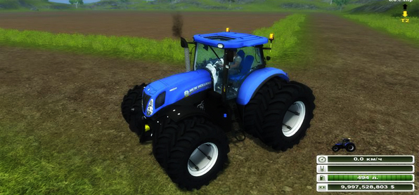 New Holland T7 210 v 1.0 (MoreRealistic)