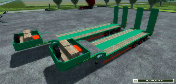 Pack Low Loader Aguas Tenias v 3.0 (MoreRealistic)