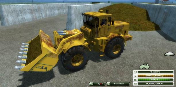 Kirovets K 701 loader v 1.0