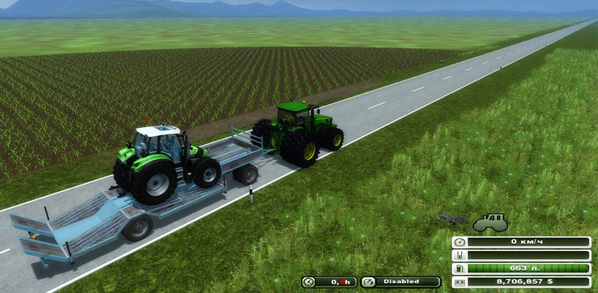 LOW LOADER trailer v 1.0