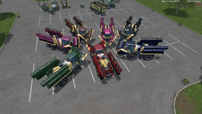 Crown Big M500 spezial 7 Pack by Eagle355th v 1.0 FS15