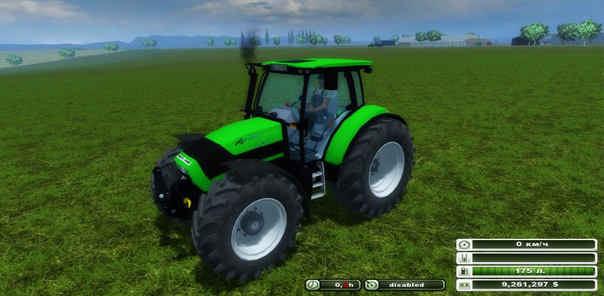 Deutz Fahr Agrotron K 120 Turbo v 2.0