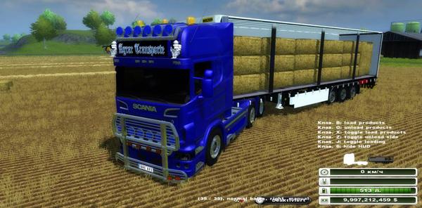 Scania R730 & Wielton v 1.0