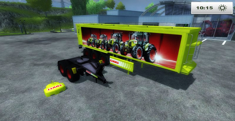 Claas Trailerzug v 1.0