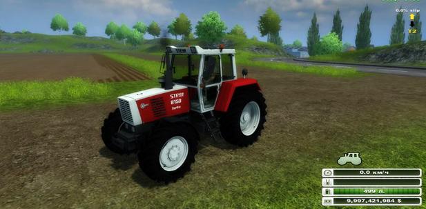 Steyr 8150 Turbo v 1.0 (MoreRealistic)
