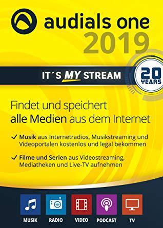 Audials One Platinum 2019.0.4400.0 Multilanguage inkl.German