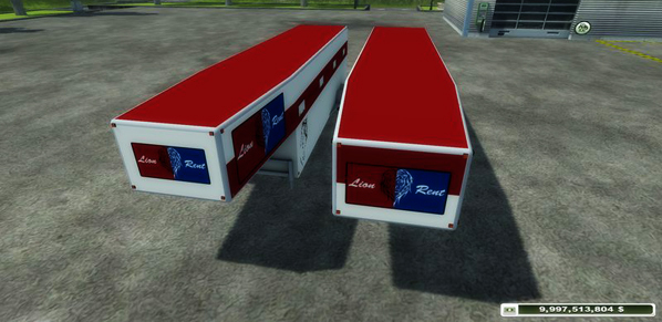 Lion Rent Semitrailer v 1.0
