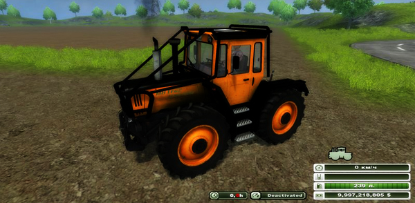 MB Trac 1600 Turbo Orange Forest v 3.0