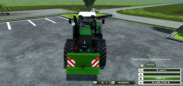 John Deere rear weight v 1.0