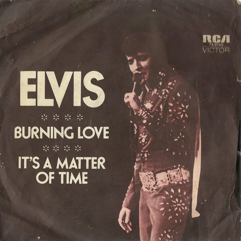 Burning Love / It's A Matter Of Time 47-0769auss1z