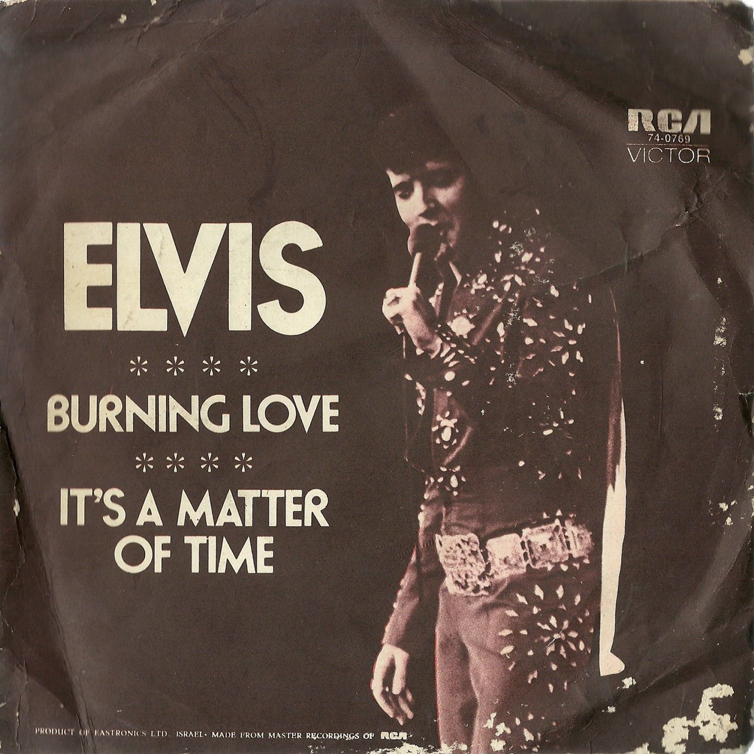 Burning Love / It's A Matter Of Time 47-0769bzcsl6