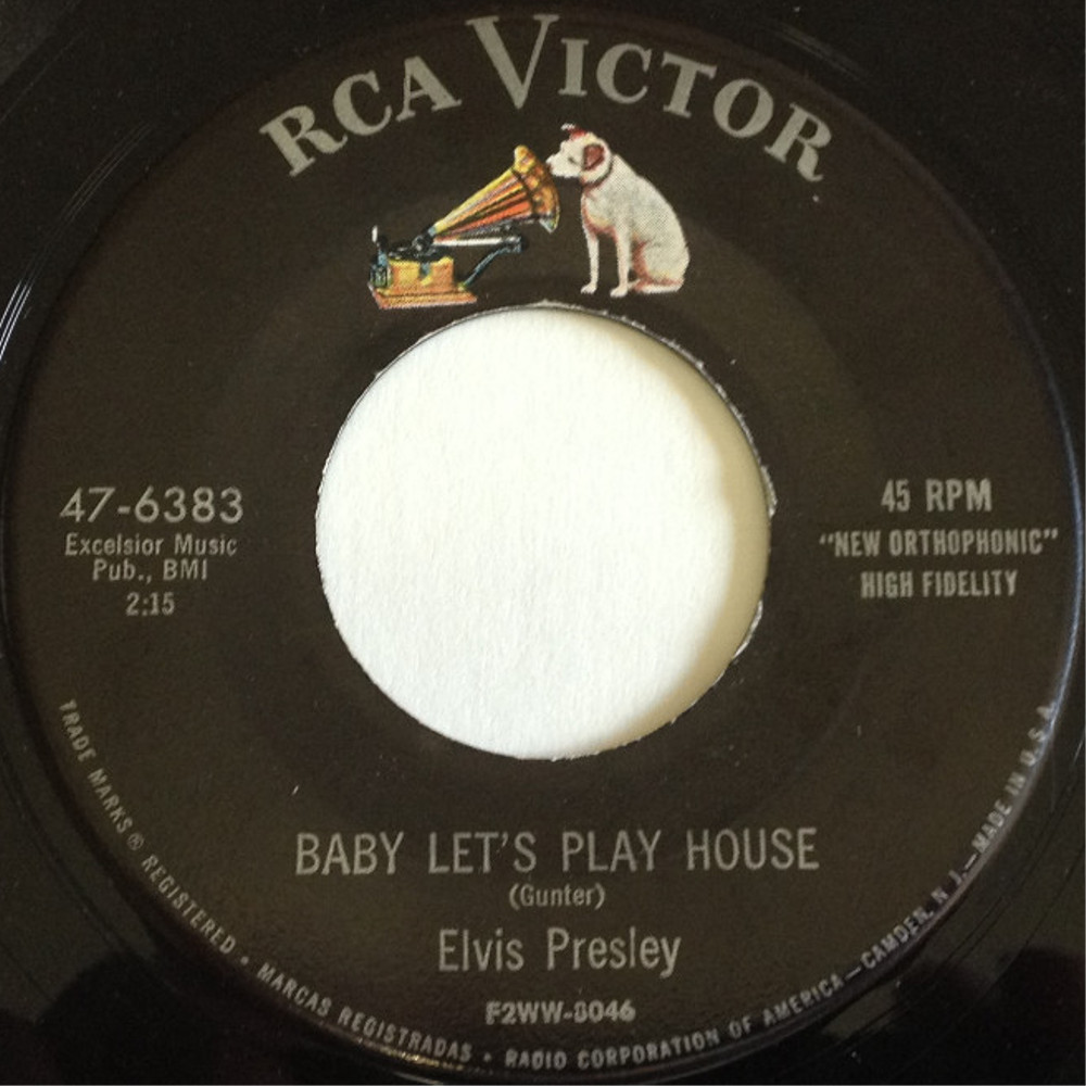 Baby Let's Play House / I'm Left, You're Right, She's Gone 47-6383ah8z6x