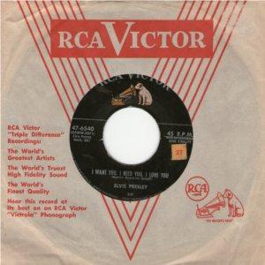 Diskografie USA 1954 - 1984 47-65406reja