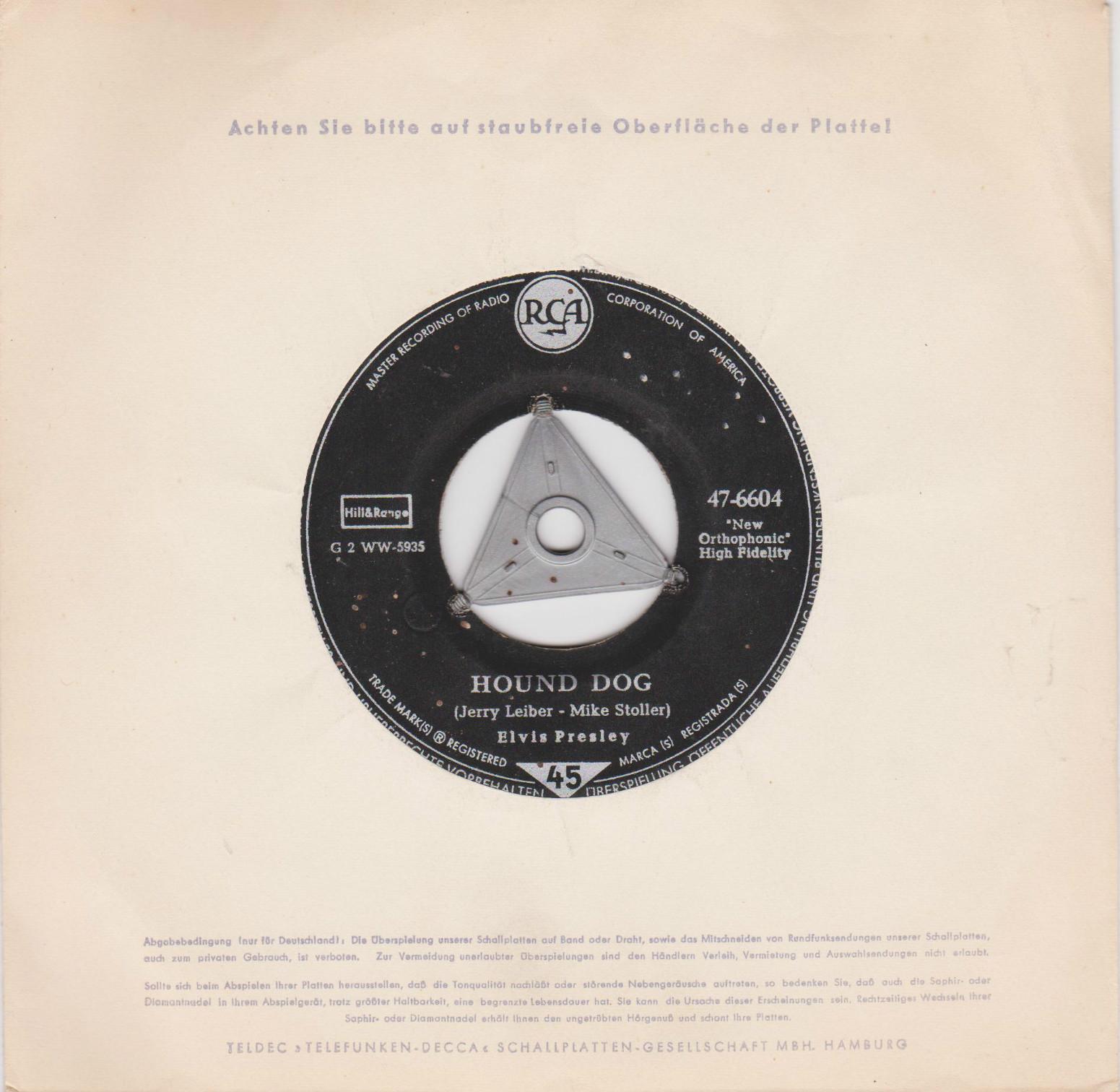 Diskografie Deutschland 1956 - 1977 47-6604mnswe