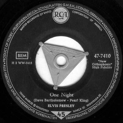 Diskografie Deutschland 1956 - 1977 47-7410ogseg