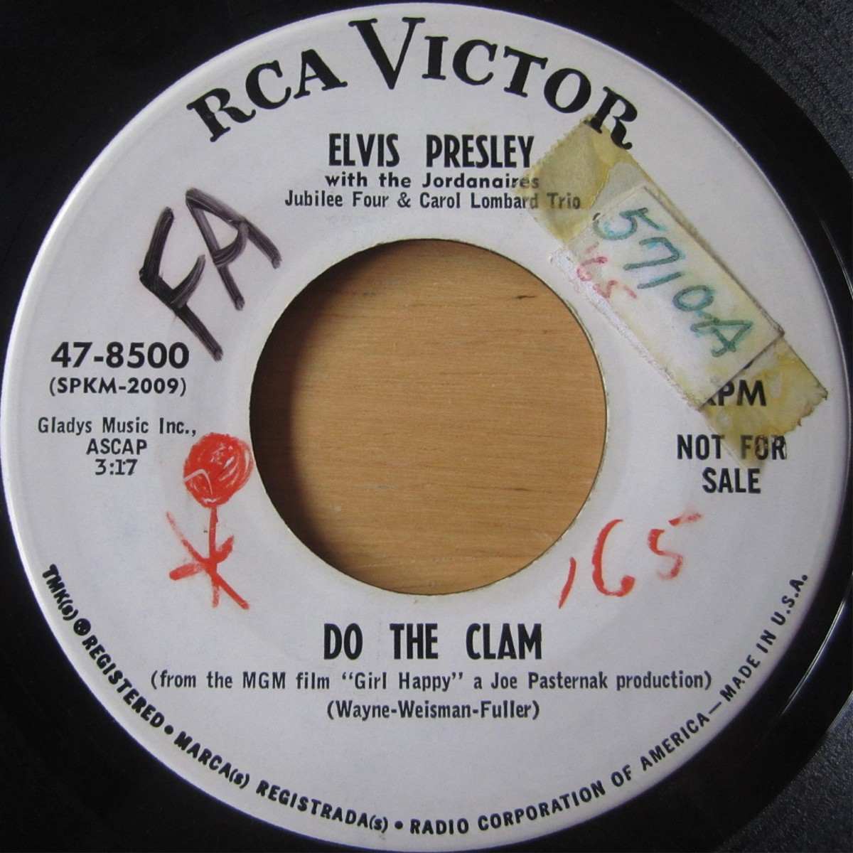 Do The Clam / You'll Be Gone 47-8500cjyu9n