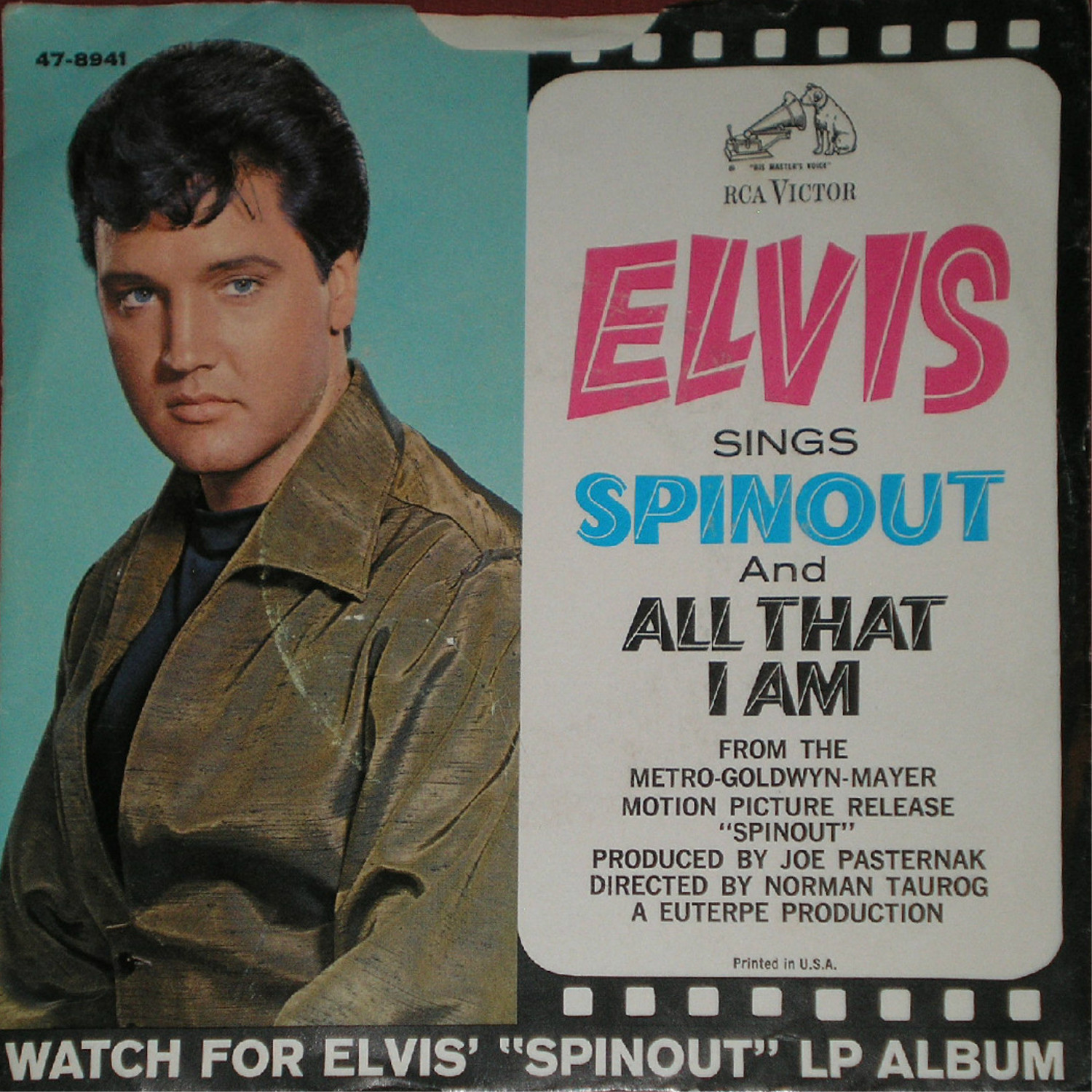 Spinout / All That I Am 47-8941axwuas