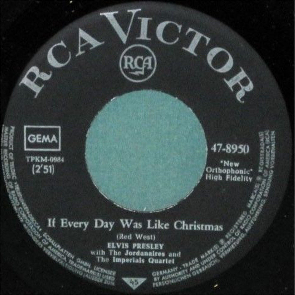 If Everyday Was Like Christmas / How Would You Like To Be 47-8950cfsltg