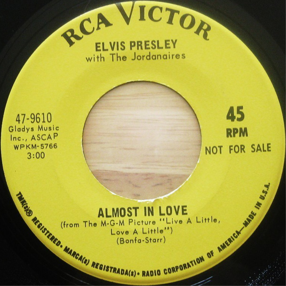 Almost In Love / A Little Less Conversation 47-9610bq2y2i