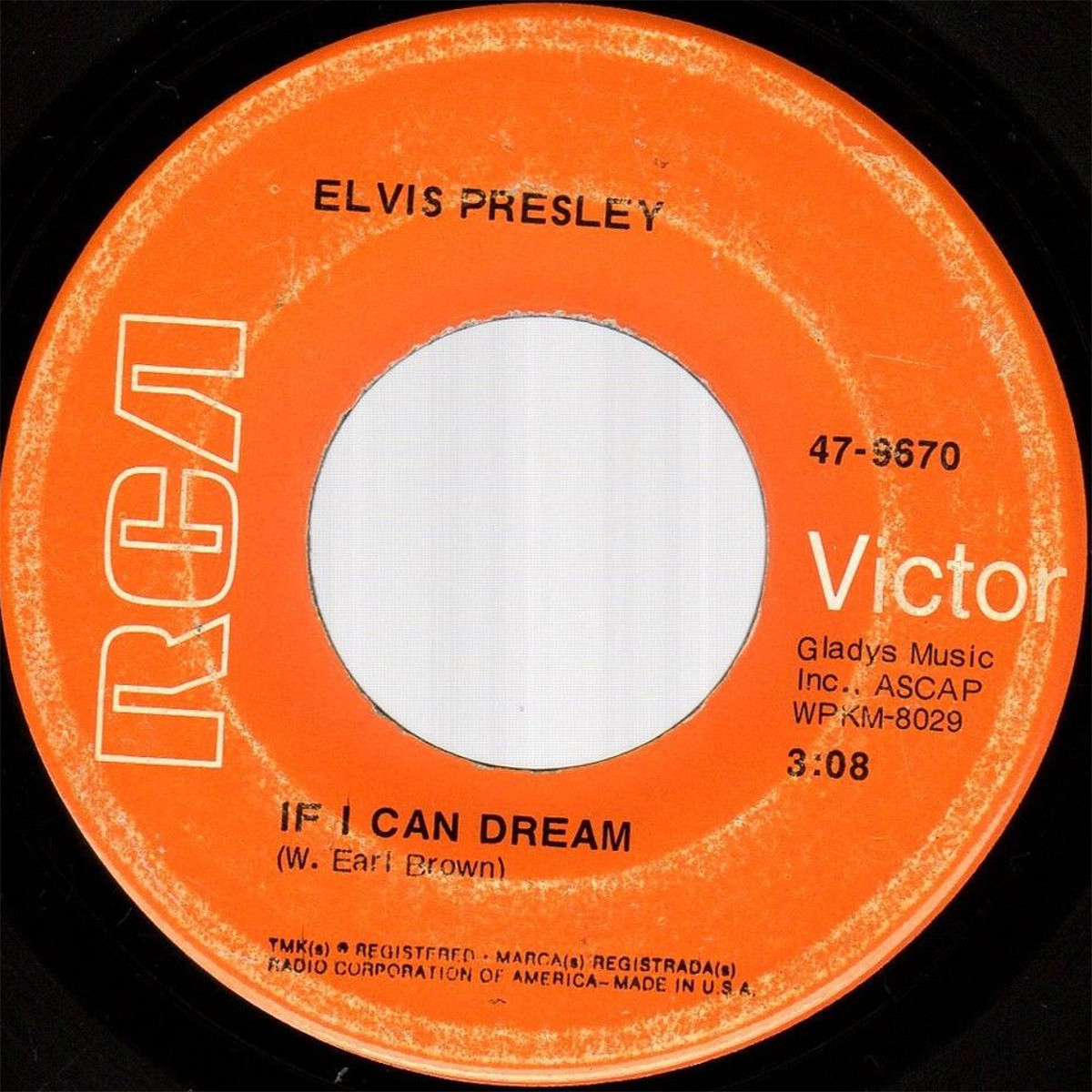 If I Can Dream / Edge Of Reality 47-9670cv7slj