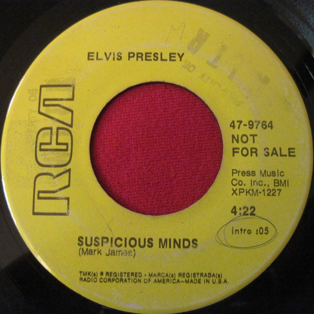 Suspicious Minds / You'll Think Of Me 47-9764a2rjpt