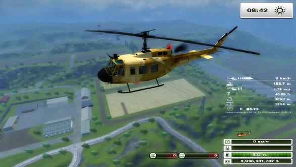 Bell UH1D Agrar v 2.0