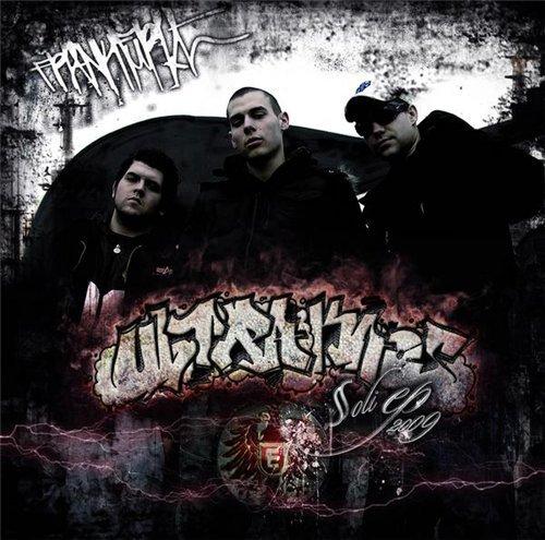 Cover: Bosca & Krykz - Ultrakaos EP 2 (2009)