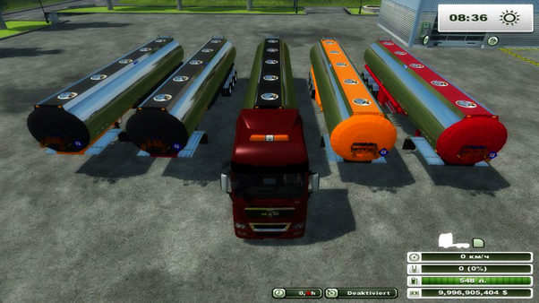 US Water Trailer Pack v 1.0