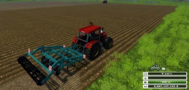 Homemade cultivator 3.5 m v 1.0