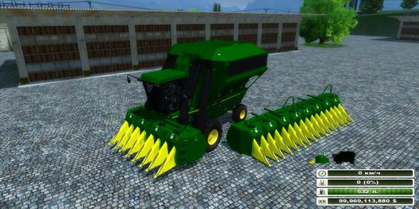 John Deere 9950 Cotton Harvester v 1.0