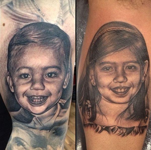 Realistyczne tatuaże #3 6