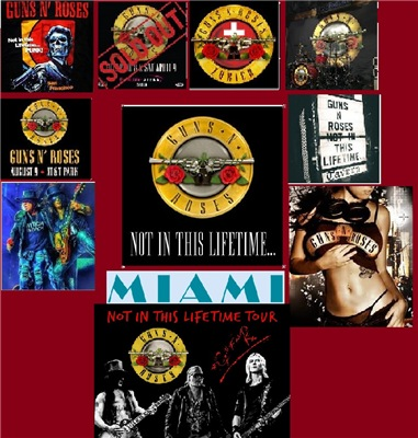 Guns N' Roses - Not In This Lifetime… Miami (2017)