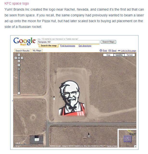 Najciekawsze miejsca na mapach Google 17