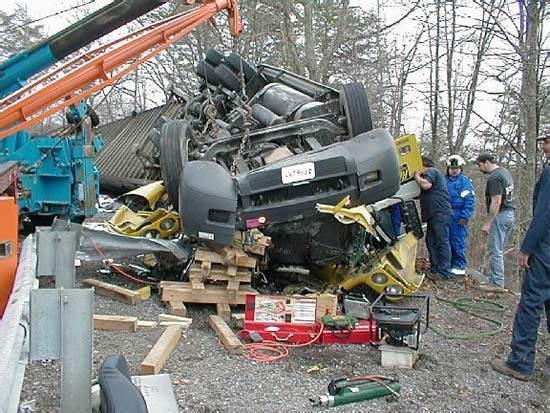 Wypadki ciężarówek 37