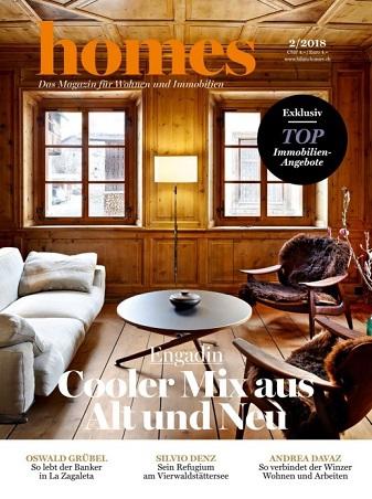 Homes Das Magazine Für Wohnen und immobilien No 02 2018
