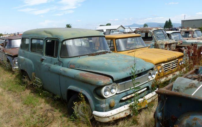 Cmentarzysko samochodów #2 23